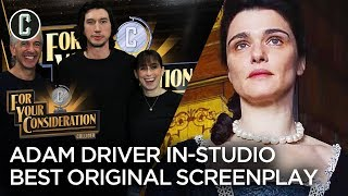 Adam Driver in Studio + Best Original Screenplay Predictions - For Your Consideration