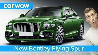 New £165K Bentley Continental Flying Spur 2020 - see why it makes a Mercedes S-Class seem cheap!