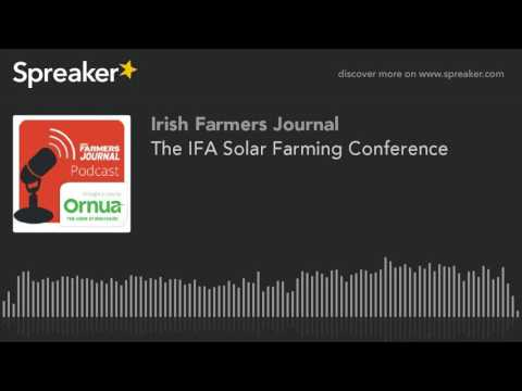 The IFA Solar Farming Conference