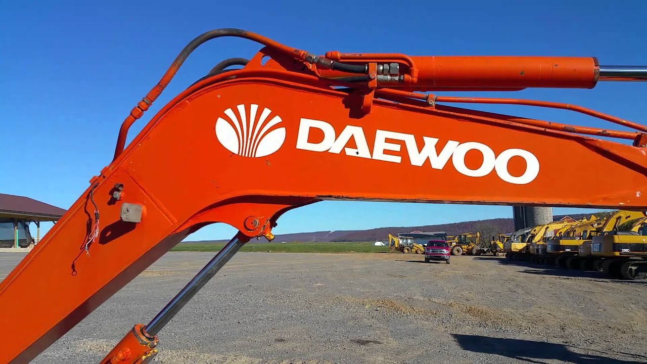 Daewoo Solar 035 Mini Excavator For Sale Inspection Video ...