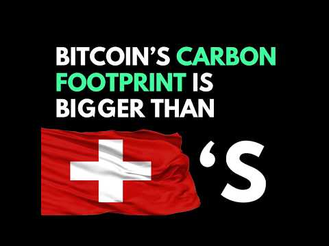 Bitcoin's Annual Carbon Footprint is Bigger Than Switzerland's