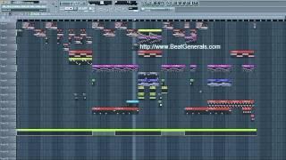 "Big Sean ""1st Quarter"" Style FL Studio Tutorial Preview"