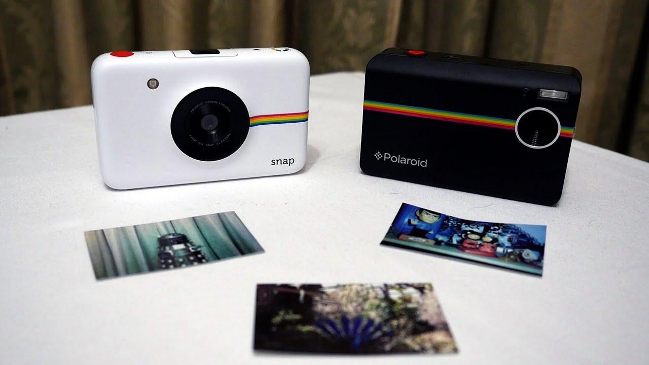 Polaroid SNAP - My Review + Polaroid Z2300 vs Snap - YouTube