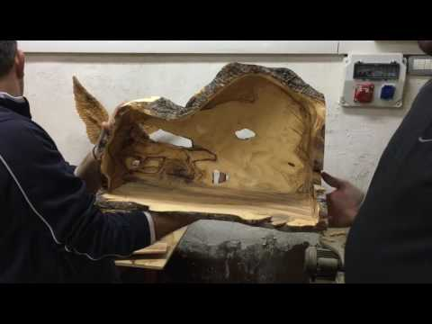 Carving the Olive Wood