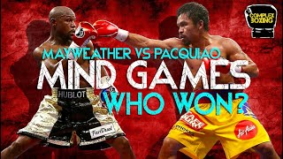 Mind Games: Mayweather vs Pacquiao Film Study | Boxing Breakdown