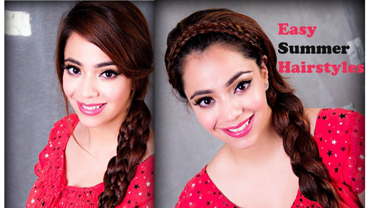summer hairstyles (english) - youtube