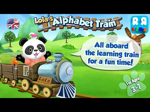 Lola's Alphabet Train HD - Learn to Read! (By BeiZ Ltd) - iOS / Android - Gameplay Video