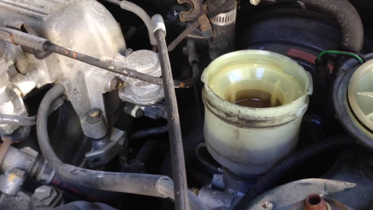 1993 Honda Accord Brake Lamp Dash Indicator Fix