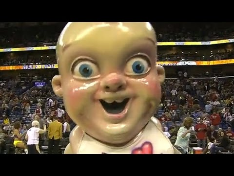 Thumbnail: Creepiest Mascots In Sports History