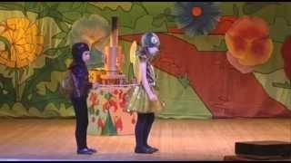 """мюзикл для детей """"Муха Цокотуха"""" по мотивам сказки К. Чуковского, музыка Т. Когана"""