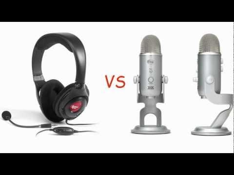 Blue Yeti vs Creative Fatality HS-800 - porównanie jakości