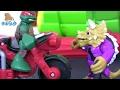 Черепашки Ниндзя Мультик. Видео для Детей. РАФ НА МИНИБАЙКЕ! TMNT Игры для Мальчиков