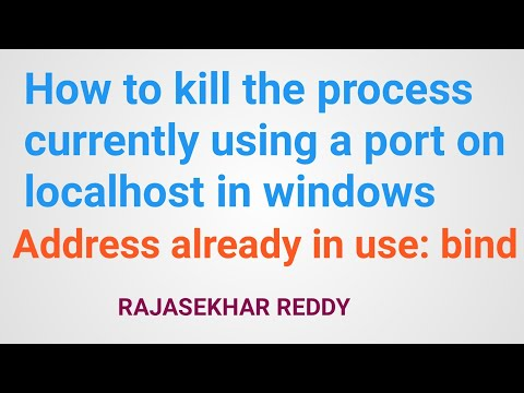 how-to-kill-the-process-currently-using-a-port-on-localhost-in-windows-address-already-in-use:-bind
