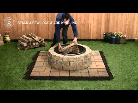 Lowe's Firepit Tap-Thru How-To