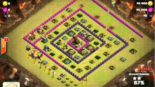 Clash of Clans -- Hero and the Goat -- JTJ's war vs Team China (06/14/14)