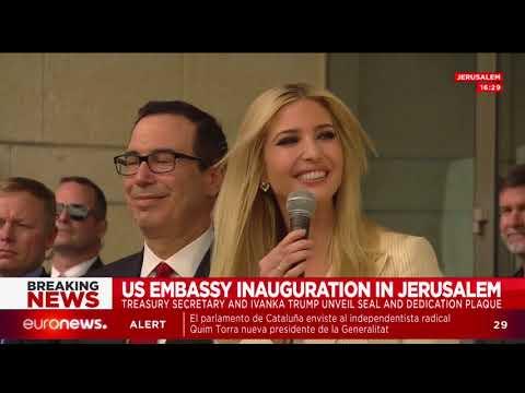 Ceremonia de apertura de la embajada de Estados Unidos en Jerusalén (Segunda parte)