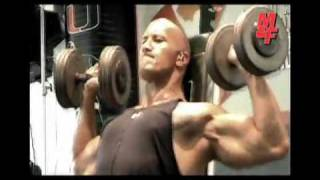 dwayne johnson the rock exclusive new workout 2010