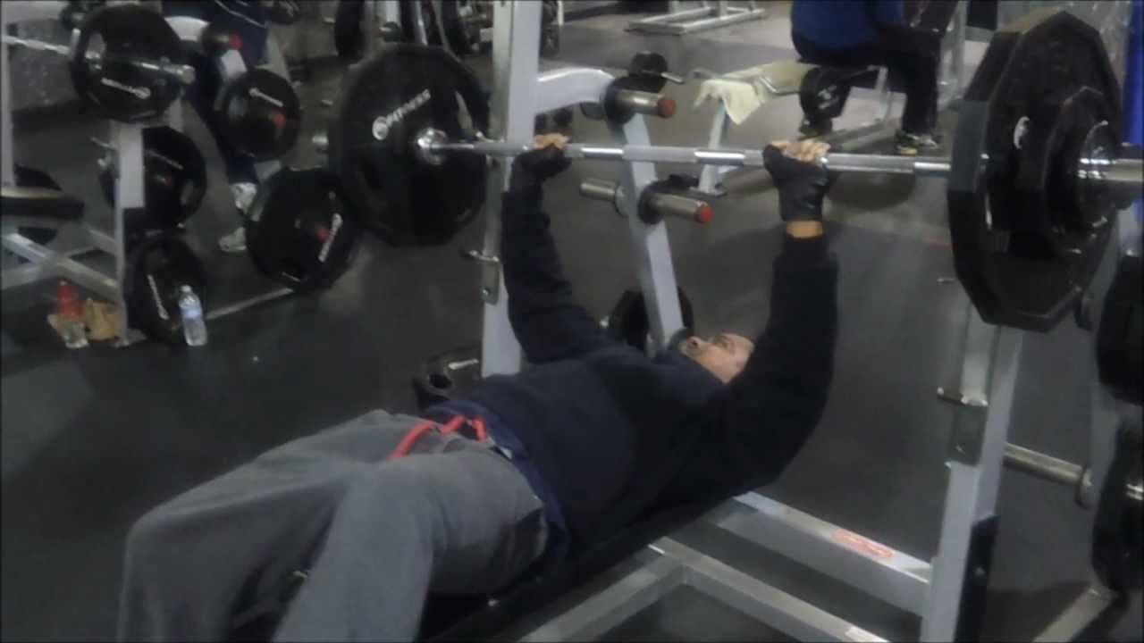 Benching Own Weight Part - 22: Bench Press Your Body Weight Challenge