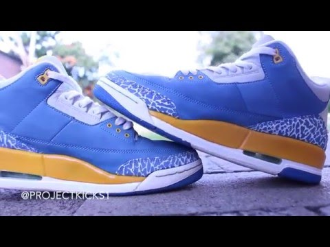 low priced d0dc0 1f233 Air Jordan 3 DTRT Restoration - YouTube