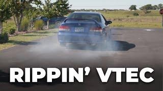 Rippin' VTEC YO!  EM1 Civic Si 2nd Drive