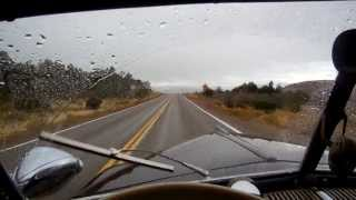 1947 Ford vacuum operated windshield wipers in rain and snow