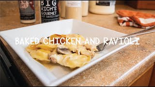 Cooking With Big Rich - Episode 18 Baked Chicken and Ravioli