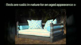 Pawleys Island Lakeside Porch Swing Bed