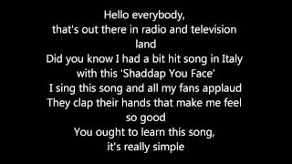 Shaddap you face - Joe Dolce Lyrics Mp3