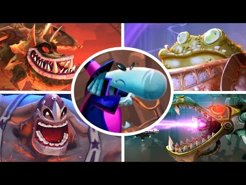Rayman Legends - All Bosses  (No Damage)