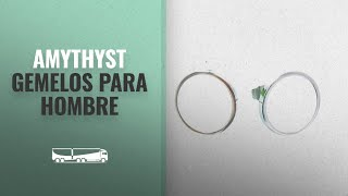 Productos 2018, Los 10 Mejores Amythyst: Amythyst Stainless Steel Colored Flat Circle / Round Disc