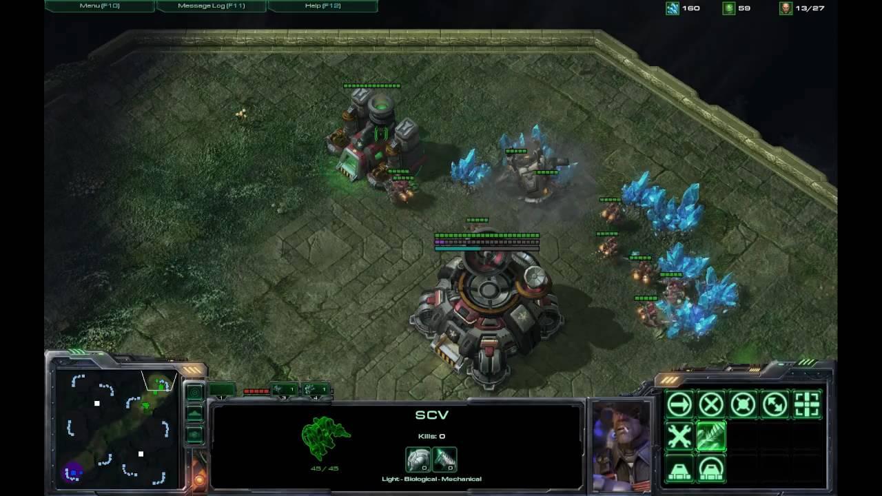 Zerg rush - Starcraft 2 Terran Vs Zerg Rush Strategy Part 1