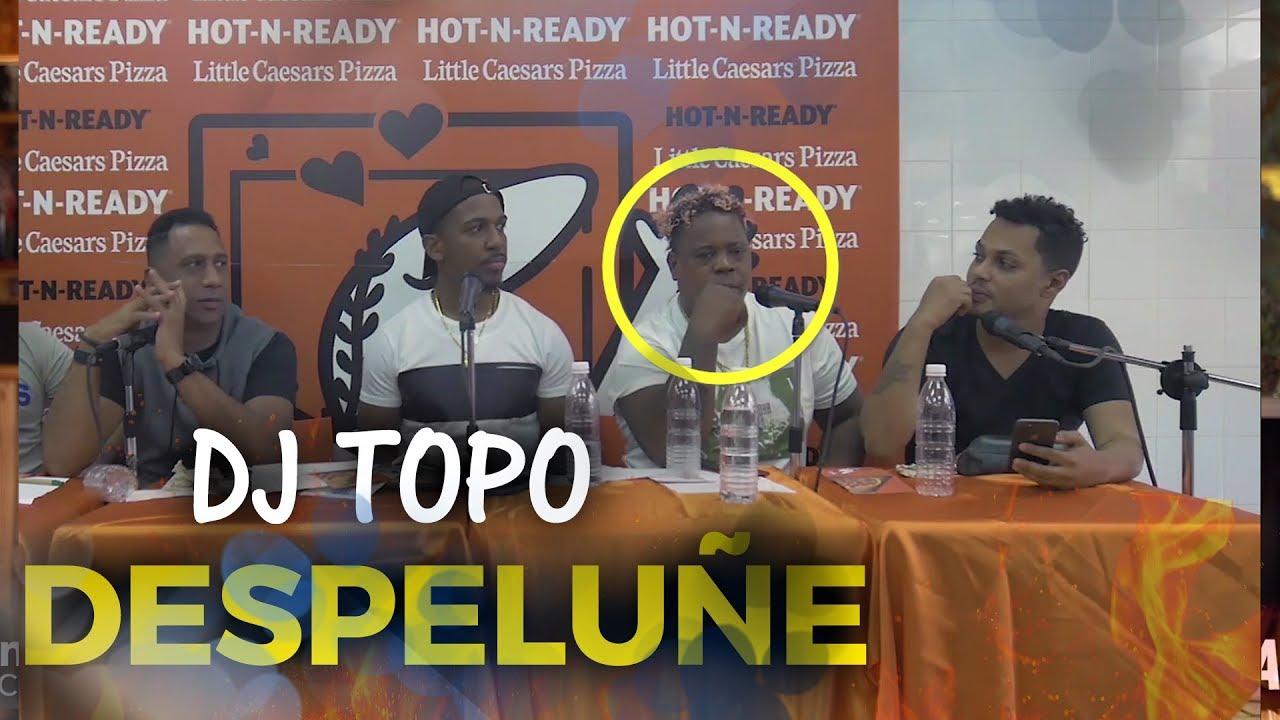 DJ TOPO SOBRE MARIACHI Y POETA CALLEJERO ||  ALOFOKE RADIO LIVE desde LITTLE CAESAR