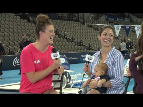 US Olympic Team Trials - Swimming: #Lane9 Night 7: Schmitt and Nicole Johnson Interview