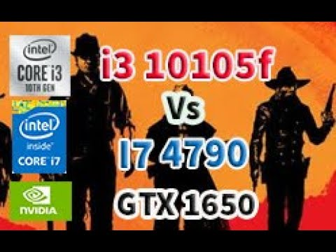 I7 4790 VS 13 10105f GTX 1650 \