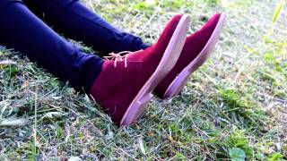 The Prestons Corded Desert Boots for Men and Ladies