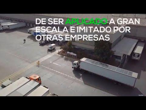 Movener & Walmart: Primer Camión Solar