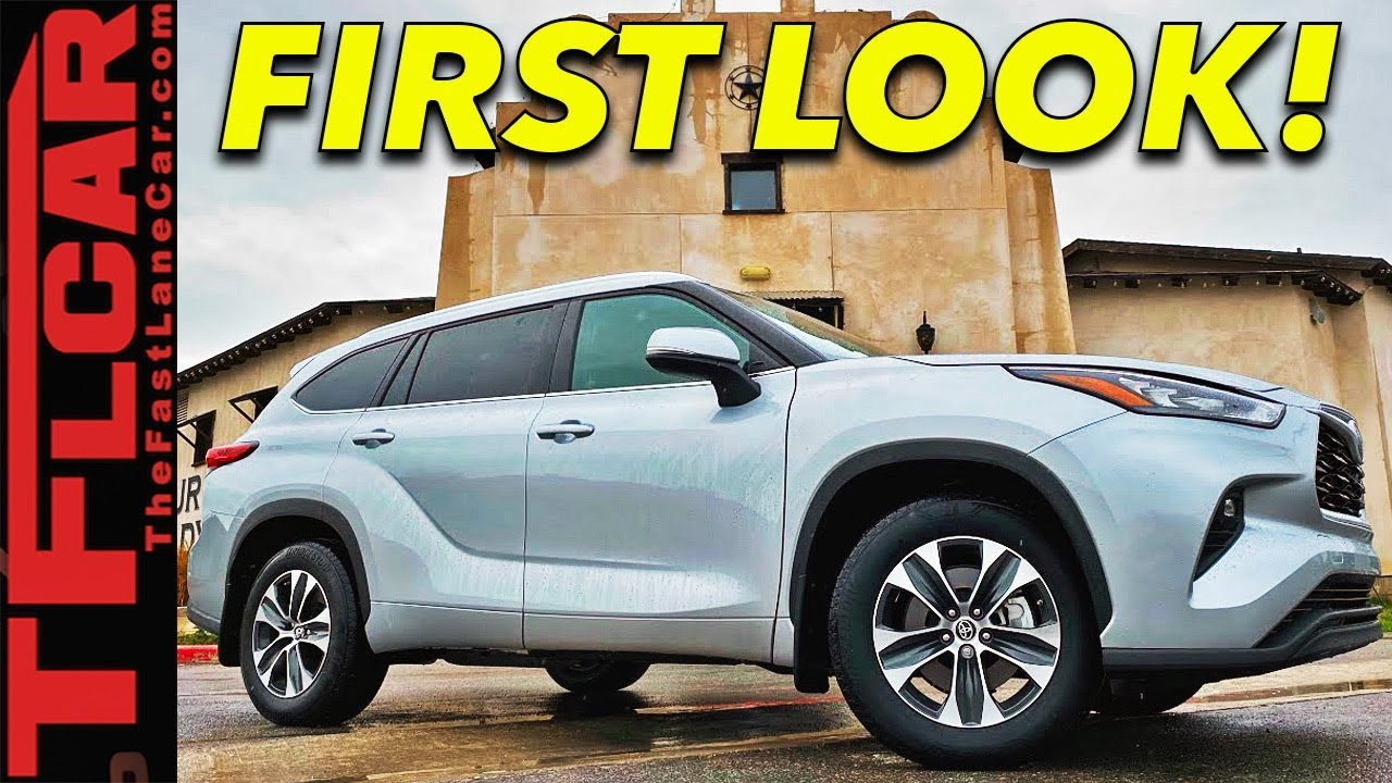 2020 Toyota Highlander Gets Badly Needed Redesign Improved Tech Behind The Scenes First Look