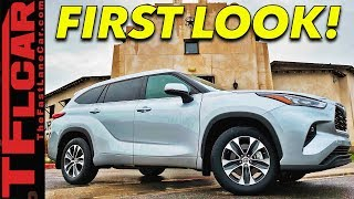 2020 Toyota Highlander Gets Badly Needed Redesign & Improved Tech - Behind the Scenes First Look!