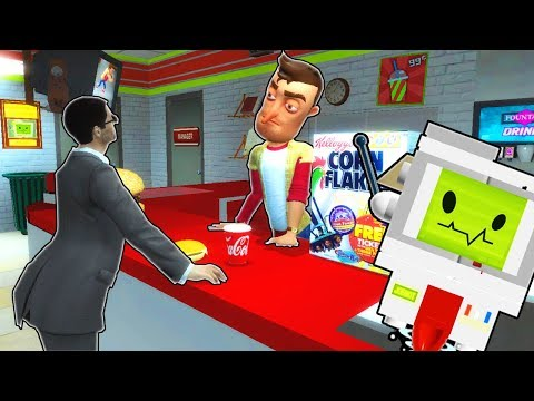 GETTING JOBS AT A SPOOKY GAS STATION?! (Garry's Mod Gameplay Gmod Roleplay) Job Simulator in Gmod! thumbnail