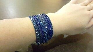 Swarovski Slake Bracelet Dark Blue(, 2016-11-15T11:37:00.000Z)