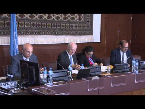 Syrian Coalition Rebuff De Mistura for Meeting Manna