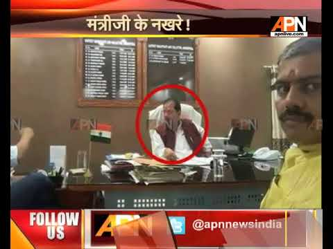 Bihar minister sits on district magistrate's chair, picture goes viral