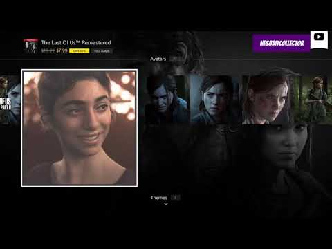 HOW TO GET THE LAST OF US THEME & AVATARS | PSN STORE | TLOU 2