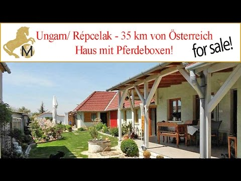 sold house with stables hungary near austria repcelak ungarn haus mit stall zu verkaufen