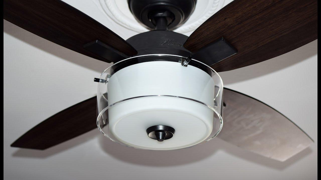 Ventilador de techo con luz estilo acero envejecido hunter fan ventilador de techo con luz estilo acero envejecido hunter fan 50618 central park aloadofball Images