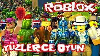 yüzlerce farkli oyun roblox simulator roleplay rolblox 2018