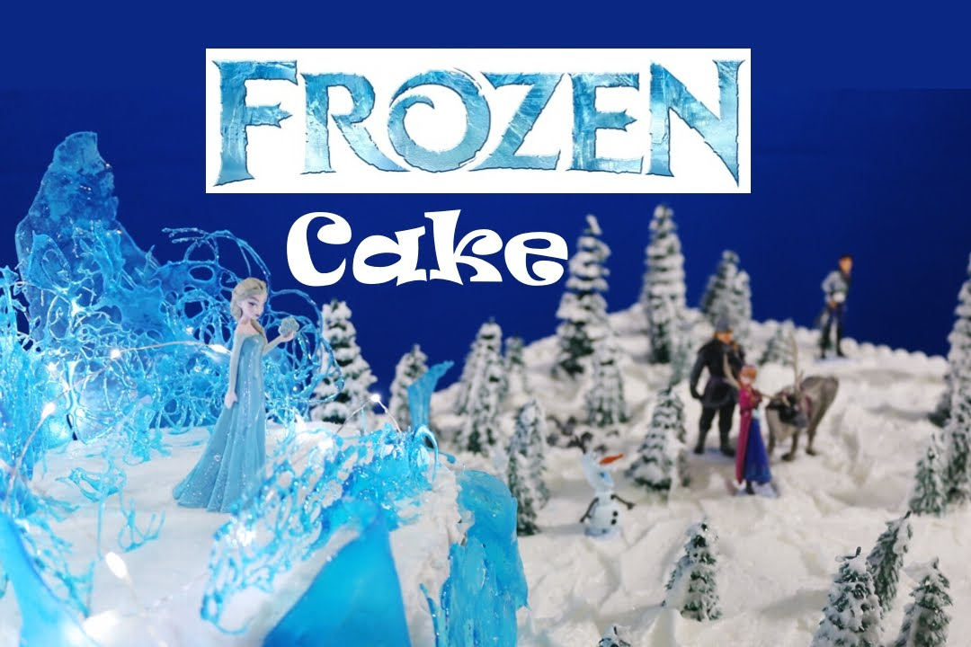 Huge Amazing Frozen Cake  - How to Make  - Darci Decorates