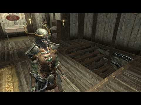 skyrim female fashion show ancient nord armor youtube
