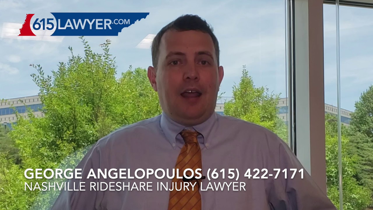 Nashville Uber and Lyft Ride Share Accident Lawyer