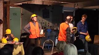 Mill Boys. Scene 2. Collingwood Underground Theatre. 2011.